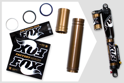 FOX Stoßdämpfer FLOAT Evol-X Kashima Upgrade Kit
